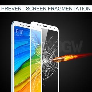 Image 2 - 9 H Gehärtetem Schutz Glas Für Xiaomi Redmi 5 5 Plus Volle abdeckung Screen Protector Für Redmi5 Plus Redmi5Plus sicherheit glas Film