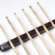 1 компл.. Бильярд Пул Снукер стол настенное крепление висит Professional 6 кий Щупы для мангала твердой древесины стойки держатель 39x4x3 см