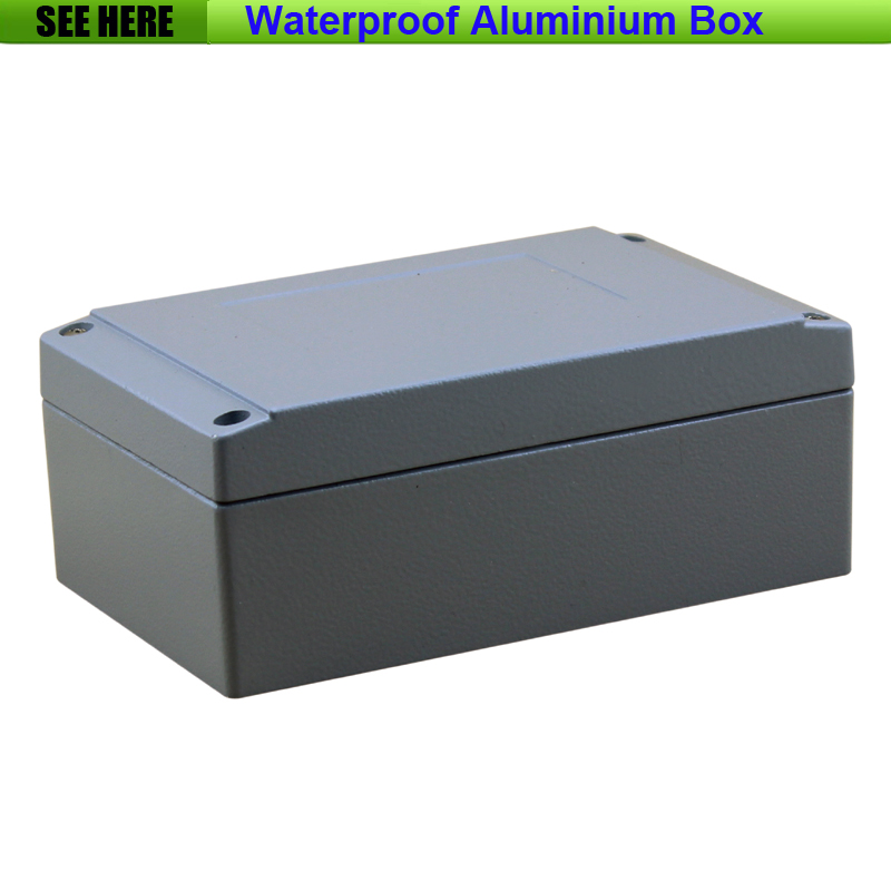 Free Shipping  1piece /lot Top Quality 100% Aluminium Material Waterproof IP67 Standard sealed aluminium box 160*100*65mm dhl free shipping top quality 900x microscope with 28 piece kit alloy material for students kids education