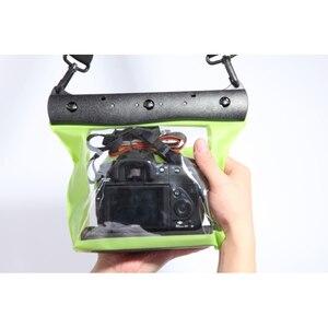 20 м 65 футов камера водонепроницаемая сухая сумка для подводного дайвинга Корпус чехол сумка для плавания для Canon Nikon Sony Pentax DSLR GQ-518L
