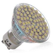 цена на 10pcs  3W GU10 LED Spotlight 60 SMD 3528 240 lm   Warm White/Cool White Energy saving lamp LED Light Spot Lamp (AC200-240V)