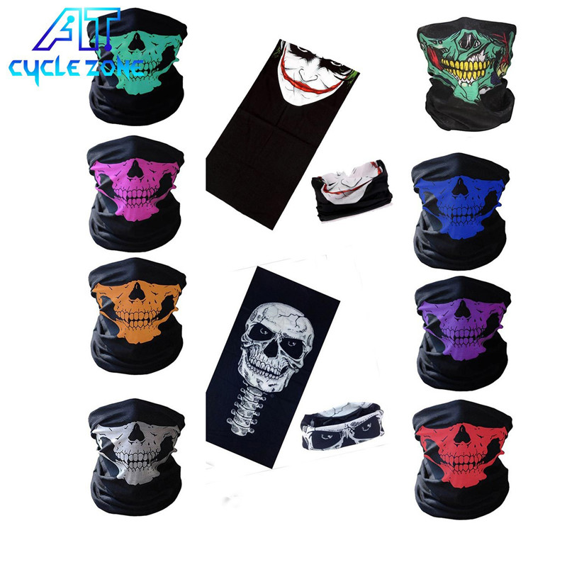 11 Styles Summer Outdoor Sports Scarf Bike Bicycle Equipment Headwear Seamless Ride Neck Mask Bike Magic Cycling Headband Mask все цены