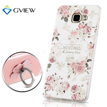 Give Brand Ultra HD 3D Stereo Relief Painting TPU Back Cover Case For Samsung Galaxy A3 A3100 / A5 A5100 / A7 A7100 2016