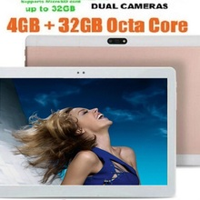 FULCOL 10 inch 3G WCDMA Phone Call tablets ROM GPS Octa core Android 7.0 HD Tablets PC 5.0MP 4GB RAM 64GB  10+Gift 1280x800