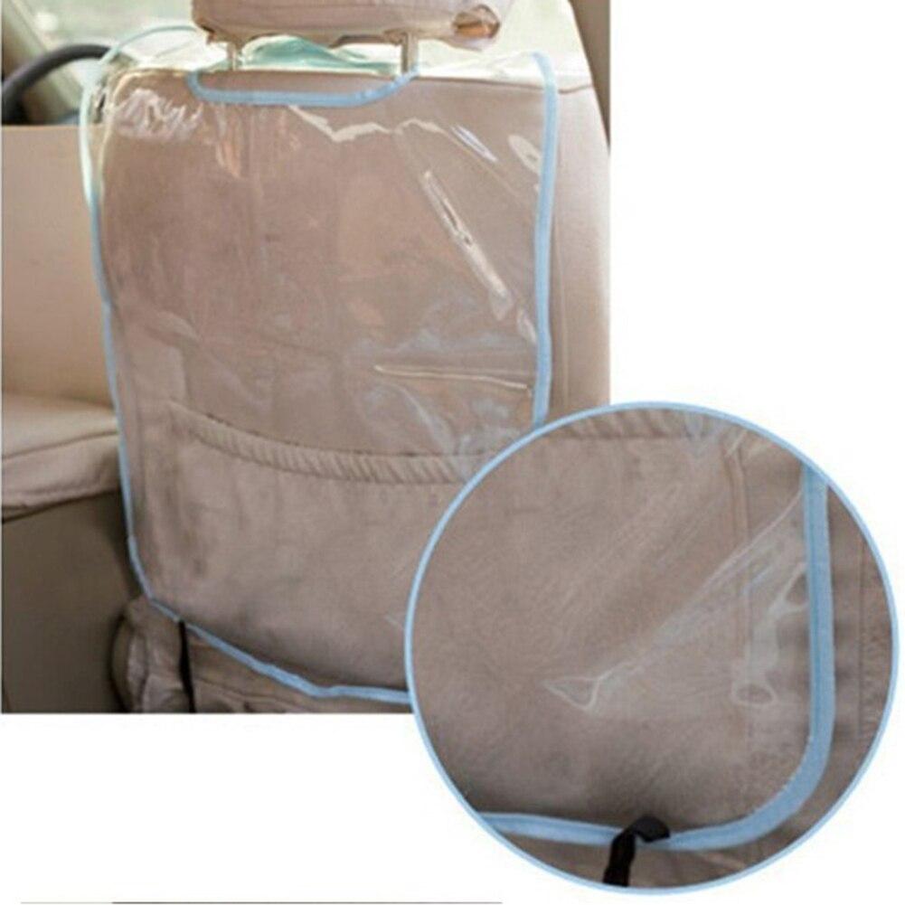 Seat kicking mat PVC Cover Car Seat Back Protector Clear Anti Kick Mat Case Anti slip mat for Kick Mat Voiture Seats Protect