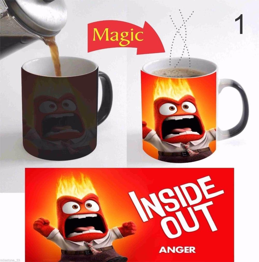<font><b>Inside</b></font> Out mugs zombie mugs coffee mug disappearing transforming <font><b>cup</b></font> cold hot heat changing color magic mug tea <font><b>cups</b></font>