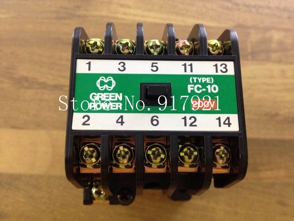 все цены на [ZOB] original FC-10 BMF6-10-41-2 200V genuine original AC contactor --2pcs/lot онлайн