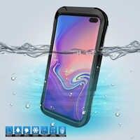 IP68 Custodia Impermeabile Trasparente Per Samsung S10 S9 S8 Più S6 S7 Bordo Della Copertura Subacquea Per Samsung S10e S5 Nota 10 più 9 8