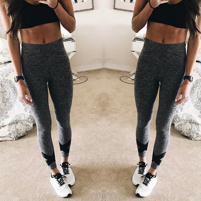 Fashion Women Sexy Pants Hip Ladies Stretch Casual Trousers  Fitness Leggings