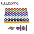 WLRING STORE- (8pc/pack) Clear Anodized Fender Washer Kit For Honda Civic Acura Integra EG DC EK WLR- FW31