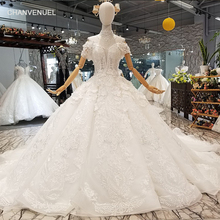 CHANVENUEL LS344700 like white train wedding dresses
