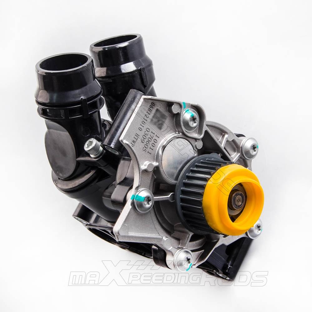 Nouveau Thermostat de pompe à eau pour VW Golf Jetta GTI Passat Tiguan 2.0 T 1.8 T 06H121026BA 06H121026 AF