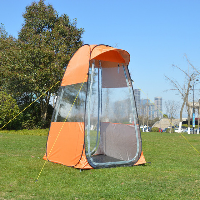 Wnnideo Portable Pop Up Shelter Outdoor Movable Waterproof Tent for Fishing Toilet Beach Park & Wnnideo Portable Pop Up Shelter Outdoor Movable Waterproof Tent ...