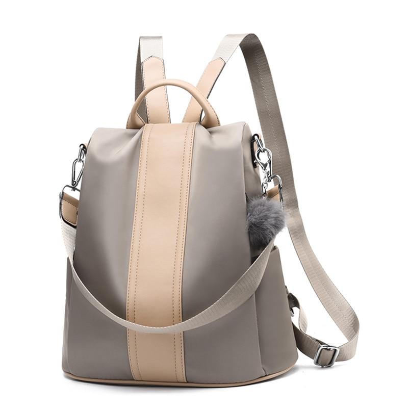 Nevenka 2018 Women Backpacks Fashion Leather Satchel Bags Sac Zipper Bags Casual Shoulder Bags Mochila07