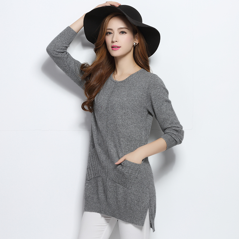 Women Pullovers 100% Pure Goat Cashmere Sweater 2016 New Winter ...