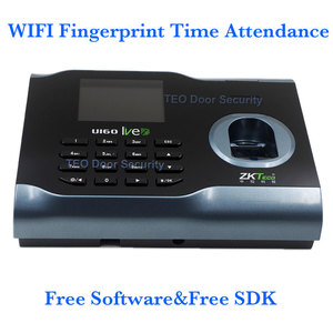 Image 2 - Finger Print Time Attendance WIFI Time Aattendance System with ZMM220 Hardware Platform Wireless Attendance U160 Free Software