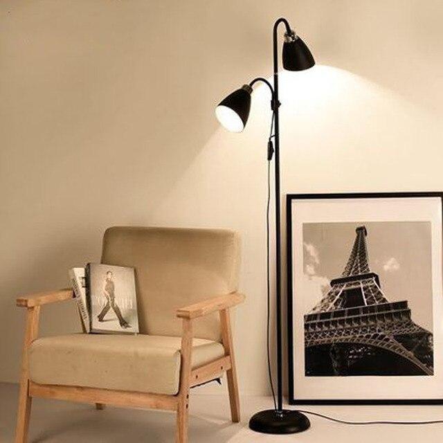 39d39b1d00b Nordic floor lamp living room bedroom bedside simple vertical table lamp LED  eye beauty salon floor