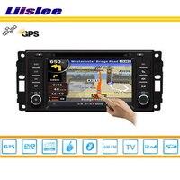 Liislee автомобиля Радио DVD плеер gps Nav географические карты навигации для Jeep Liberty 2008 ~ 2010 ТВ IPOD, USB Bluetooth HD экран мультимедиа системы