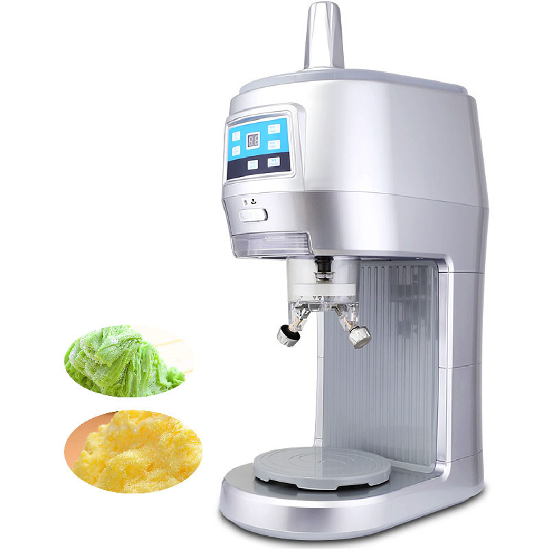 все цены на Beijamei Most popular Commercial continuous ice shaver machine shaved snow ice crusher machine electric snowflake ice machine онлайн