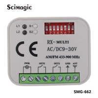315MHz 390MHz 433MHz 868MHz ricevitore del cancello del garage trasmettitore del telecomando del ricevitore