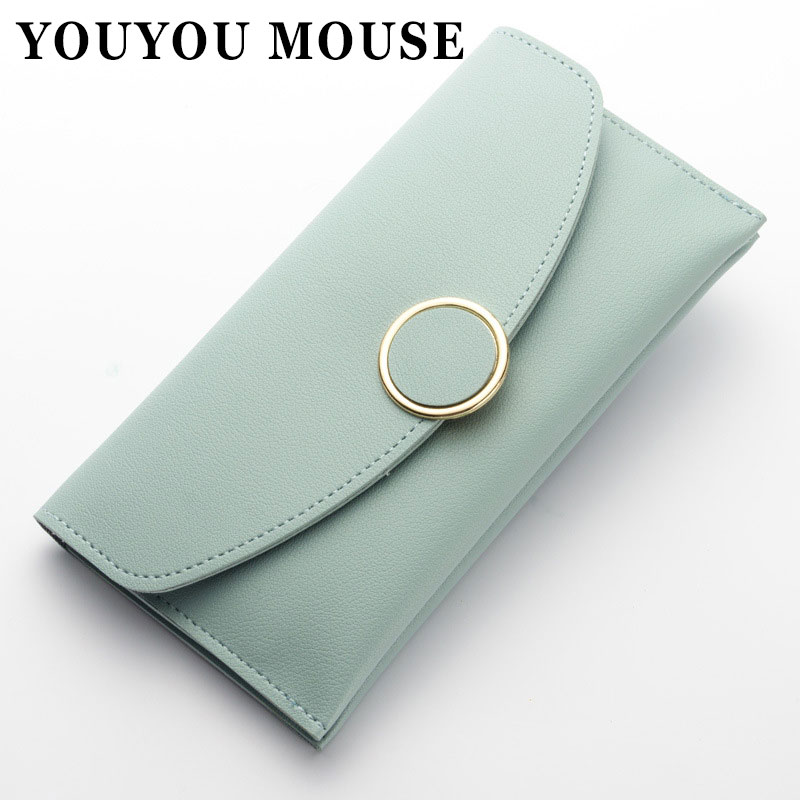 YOUYOU MOUSE Women 's Wallets 2 Fold UP Leather Korean Version Fashion Handbags Multi-Card Bit Coin Pocket Girl Leisure Wallet jayaprakash arumugam and mohan s egg removal device for the management of stored product insects