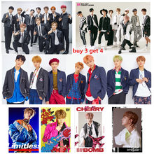 NCT 2018 The latest version Posters Wall Sticker Good Quality Glossy Paper Wall Decoration Livingroom Bedroom Home Art Brand(China)