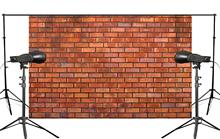 Retro Photography Background Creative Red Brick Wall Photo Backdrops Photography Studio background Props 5x7ft/150x210cm 5x7ft kate retro dark wooden photography backdrops children background photography vintage scenic photography backdrops