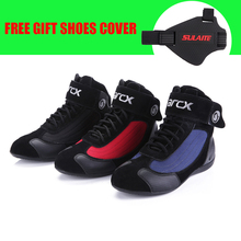 ARCX Motorcycle Leather Boots Motocross Off Road Protective boot Botas Scooter Racing Moto Bike Riding Motorcycle Shoes boot