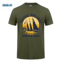 GILDAN Cool New Style Boats Worldwide T Shirts Men New Designer Clothing Brand Top Vintage Punk