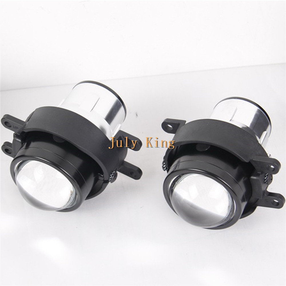 July King Car Bifocal Lens Fog Lamp, Front Bumper Fog Lamp Assembly Case for Lexus RX 2009~, IS 2009~,  CT 2011~ car bifocal fog lens for honda cr v accord taiwan product front bumper lights high quality free shipping