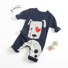 981cbf6c362 2018 Baby Clothes Infant Children s girls boys Romper Pet Dogs and Deer Pattern  Harem Cute Animals