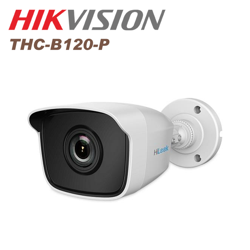 Hikvision cctv camera 2 MP EXIR Bullet Camera IP66 THC-B120-P(2.8mm) TVI cctv IR camera bullet camera tube camera headset holder with varied size in diameter