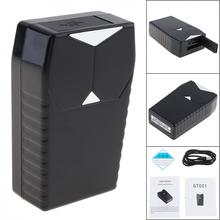 цена на GT001 Mini Magnetic Car GPS Tracker Locator Car Vehicle Real Time Tracking System Device GPS Locator 3300mah 90 Days Standby