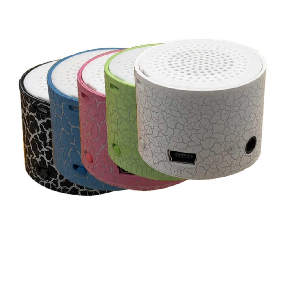 Mini haut-parleur fissure modèle Support TF carte haut-parleurs mp3 stéréo Audio lecteur de musique