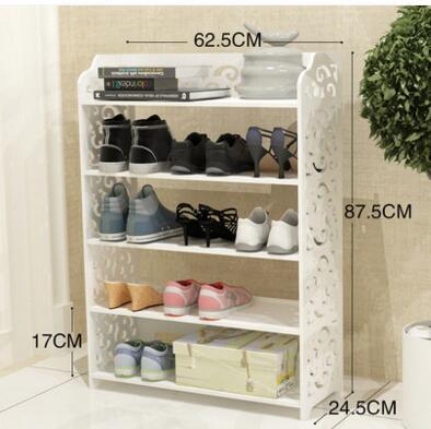 Door shoe rack multi-storey modern minimalist simple household space storage rack living room economy European-style shoe rack00 стоимость