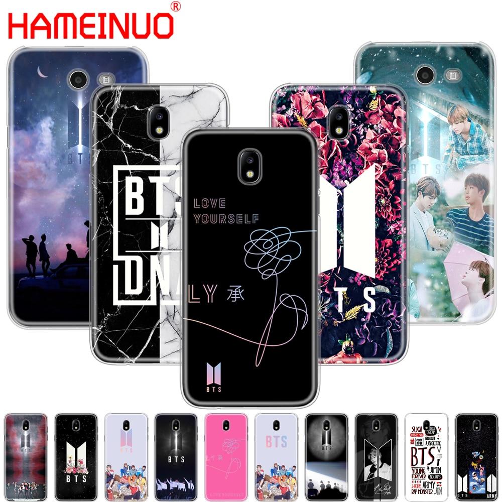 Galleria fotografica HAMEINUO BTS Bangtan Boys NEW LOGO cover phone case for Samsung Galaxy J3 J5 J7 2017 J527 J727 J327 J330 J530 J730 prime pro
