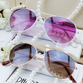 DRESSUUP Baby Girls Boys Kids Sunglasses Pilot Style Brand Design Vintage Children Sun Glasses UV 400 Oculos De Sol With Box