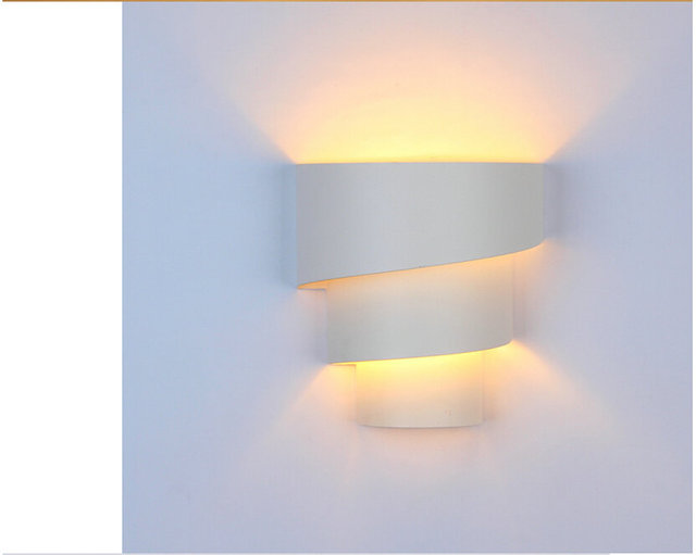 Lamp Slaapkamer Nachtkastje : Europese moderne slaapkamer hal w led wall lamp minimalistische