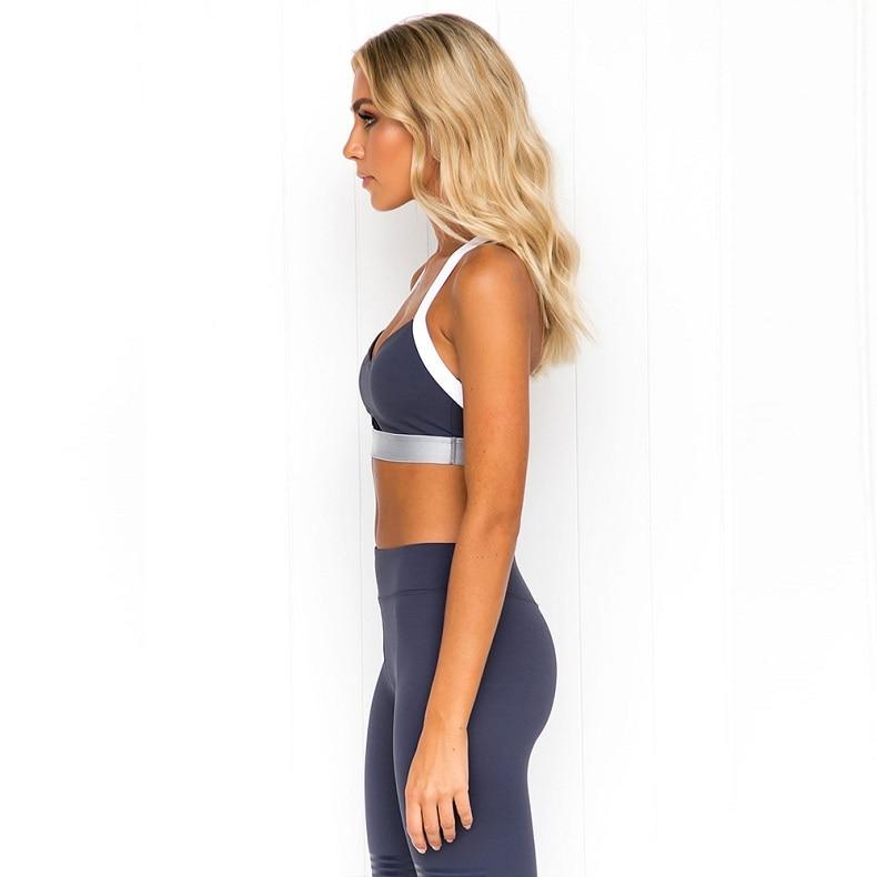 do esporte de fitness cintura alta push