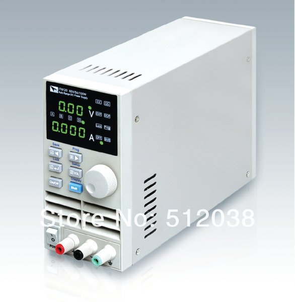 ITech IT6721 Programmable DC power supply 60V 8A 100W  110V / 220V itech celb44n сильвер