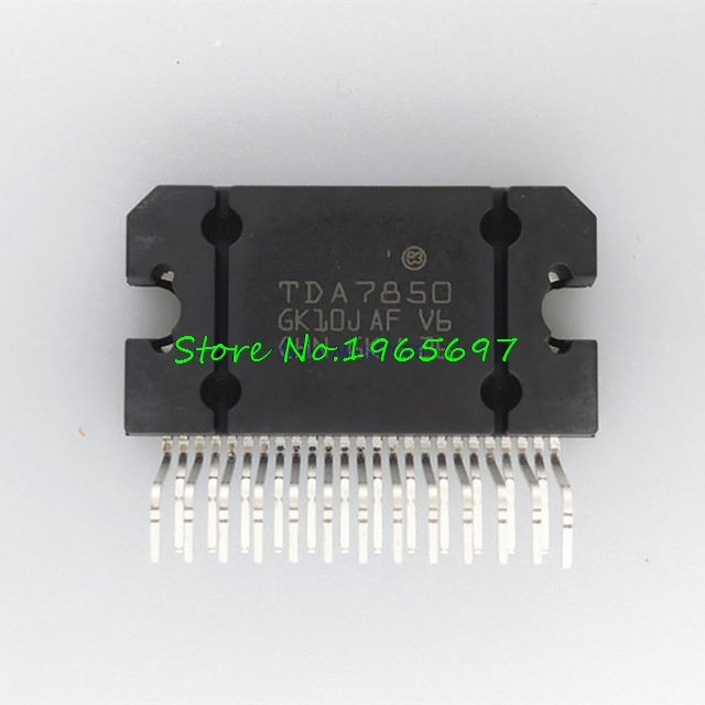 1pcs/lot TDA7850 ZIP TDA7850A ZIP-25 New Original In Stock