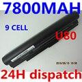 7800 МАЧ Аккумулятор для Ноутбука Asus A31-U80 A32-U80 A33-U50 L062061 LO62061 LOA2011 U20 U20A U50 U50A U50Vg U80A U80V U81 U81A