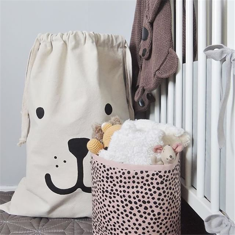 Cute Laundry Bags aliexpress : buy fast shipping cute baby toys storage canvas