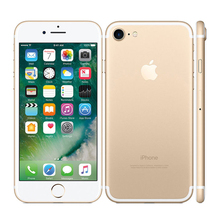 New Original Apple iPhone 7 2GB RAM 32/128GB/256GB ROM IOS 10 LTE 12.0MP Camera Quad Core Fingerprint Brand Cell Phones iphone7