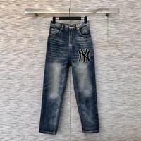 AH02747 модные женские джинсы 2019 взлетно посадочной полосы роскошь известный бренд Европейский дизайн вечерние стиль women'sClothing