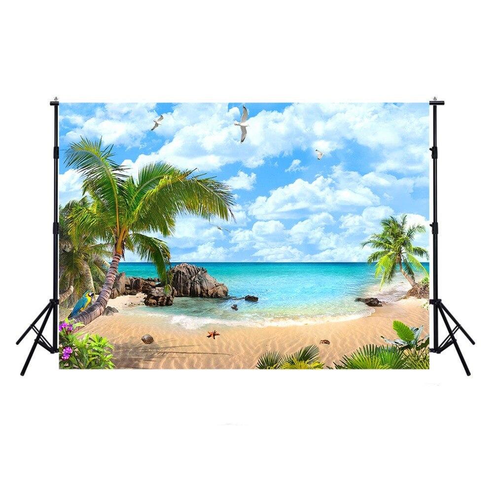 Playa fotografía Fondo océano Luau fondo para fotografía diseño tropical Hawái fondo para foto estudio Photocall Boda
