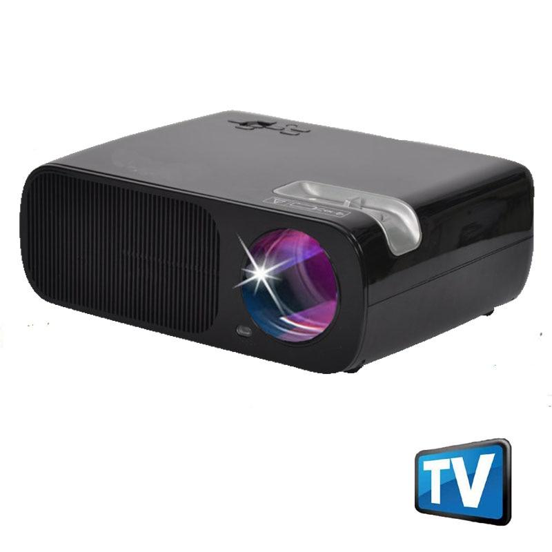 WZATCO 3000 lúmenes HDMI USB Vídeo Portátil Mini HD 1080 P Proyector Proyector d