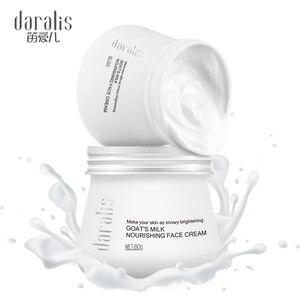 Image 3 - 80g Goat Milk Nourishing Face Cream Deep Moisturizing Body Lotion Bubble Whitening Facial for Skin Care Hand Deep Hydration Hot