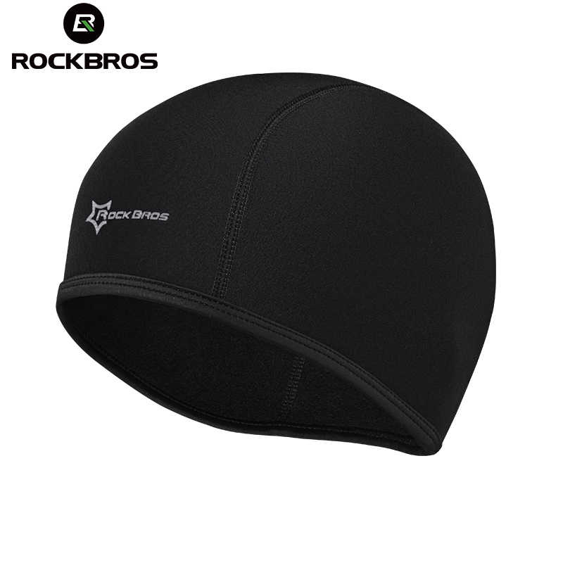 09fa537bad92d ROCKBROS Outdoor Sports Fleece Hiking Caps For Men Winter Thermal Skiing  Snow Cap Warmer Bicycle Riding