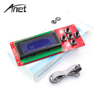 Anet A8 2004LCD Smart Display Screen Controller Module With Cable For RAMPS 1 4 Mega Pololu